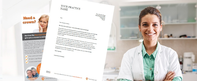 Patient-Letter-and-Patient-Brochure-with-smiling-dentist